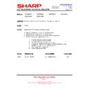 Sharp LC-32P55E (serv.man62) Technical Bulletin