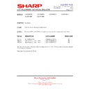 Sharp LC-32P70E (serv.man44) Technical Bulletin