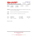 Sharp LC-32P70E (serv.man47) Technical Bulletin