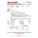 Sharp LC-32P70E (serv.man50) Technical Bulletin