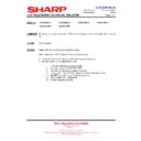 Sharp LC-32P70E (serv.man59) Technical Bulletin