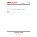 Sharp LC-32P70E (serv.man60) Technical Bulletin