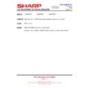 Sharp LC-32P70E (serv.man61) Technical Bulletin