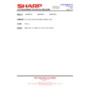 Sharp LC-32P70E (serv.man63) Technical Bulletin