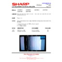 Sharp LC-32P70E (serv.man64) Technical Bulletin