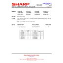 Sharp LC-37D65 (serv.man14) Technical Bulletin