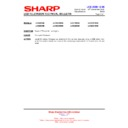 Sharp LC-37D65 (serv.man15) Technical Bulletin