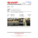 Sharp LC-37D65 (serv.man16) Technical Bulletin