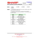 Sharp LC-37D65 (serv.man18) Technical Bulletin