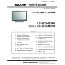 Sharp LC-37D65 (serv.man9) Parts Guide
