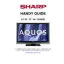 Sharp LC-37D65 Handy Guide