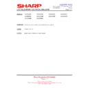 Sharp LC-37GA9EK (serv.man39) Technical Bulletin