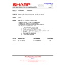 Sharp LC-37GA9EK (serv.man43) Technical Bulletin