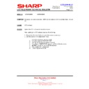 Sharp LC-37GA9EK (serv.man45) Technical Bulletin