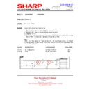 Sharp LC-37GA9EK (serv.man46) Technical Bulletin