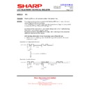 Sharp LC-37XD1E (serv.man14) Technical Bulletin