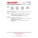 Sharp LC-37XD1E (serv.man15) Technical Bulletin