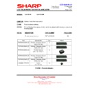 Sharp LC-37XD1E (serv.man16) Technical Bulletin