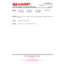 Sharp LC-37XD1E (serv.man18) Technical Bulletin