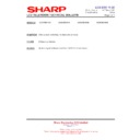 Sharp LC-37XD1E (serv.man21) Technical Bulletin