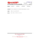 Sharp LC-37XD1E (serv.man23) Technical Bulletin
