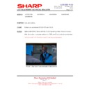Sharp LC-37XD1E (serv.man25) Technical Bulletin