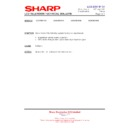 Sharp LC-37XD1E (serv.man26) Technical Bulletin