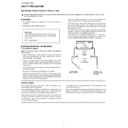 Sharp LC-37XD1E Service Manual