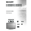 Sharp LC-40LE821E (serv.man15) User Guide / Operation Manual