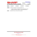 Sharp LC-40LE821E (serv.man18) Technical Bulletin