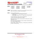 Sharp LC-40LE821E (serv.man21) Technical Bulletin