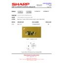 Sharp LC-40LE821E (serv.man23) Technical Bulletin