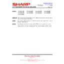 Sharp LC-40LE821E (serv.man24) Technical Bulletin