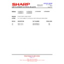Sharp LC-40LE821E (serv.man25) Technical Bulletin