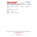 Sharp LC-40LE821E (serv.man26) Technical Bulletin