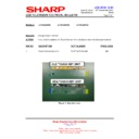 Sharp LC-40LE821E (serv.man27) Technical Bulletin