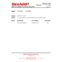 Sharp LC-40LE821E (serv.man28) Technical Bulletin