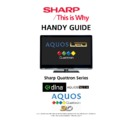 Sharp LC-40LE821E Handy Guide