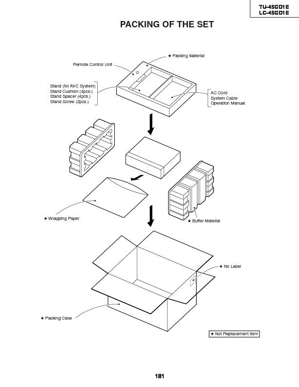 Sharp Lc 45gd1e Serv Man34 Service Manual