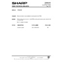 Sharp VC-H90HM (serv.man20) Technical Bulletin