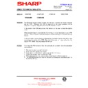 Sharp VC-MH68HM (serv.man23) Technical Bulletin