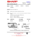 Sharp VC-MH68HM (serv.man24) Technical Bulletin