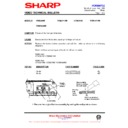 Sharp VC-MH68HM (serv.man27) Technical Bulletin