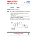 Sharp VC-MH68HM (serv.man28) Technical Bulletin