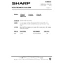 Sharp VC-MH68HM (serv.man31) Technical Bulletin
