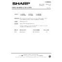 Sharp VC-MH68HM (serv.man32) Technical Bulletin