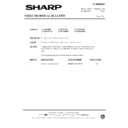Sharp VC-MH68HM (serv.man36) Technical Bulletin