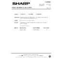 Sharp VC-MH68HM (serv.man39) Technical Bulletin