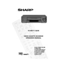 Sharp VC-MH711HM (serv.man12) User Guide / Operation Manual