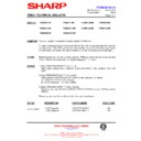 Sharp VC-MH711HM (serv.man16) Technical Bulletin